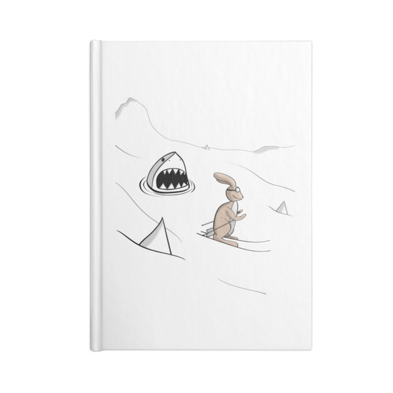 Snow Bunny Accessories Notebook by Every Drop's An Idea's Artist Shop
