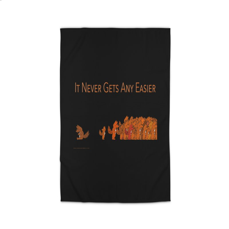 It Never Gets Any Easier Home Rug by Every Drop's An Idea's Artist Shop