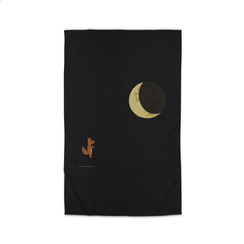 Just The Moon And I Home Rug by Every Drop's An Idea's Artist Shop