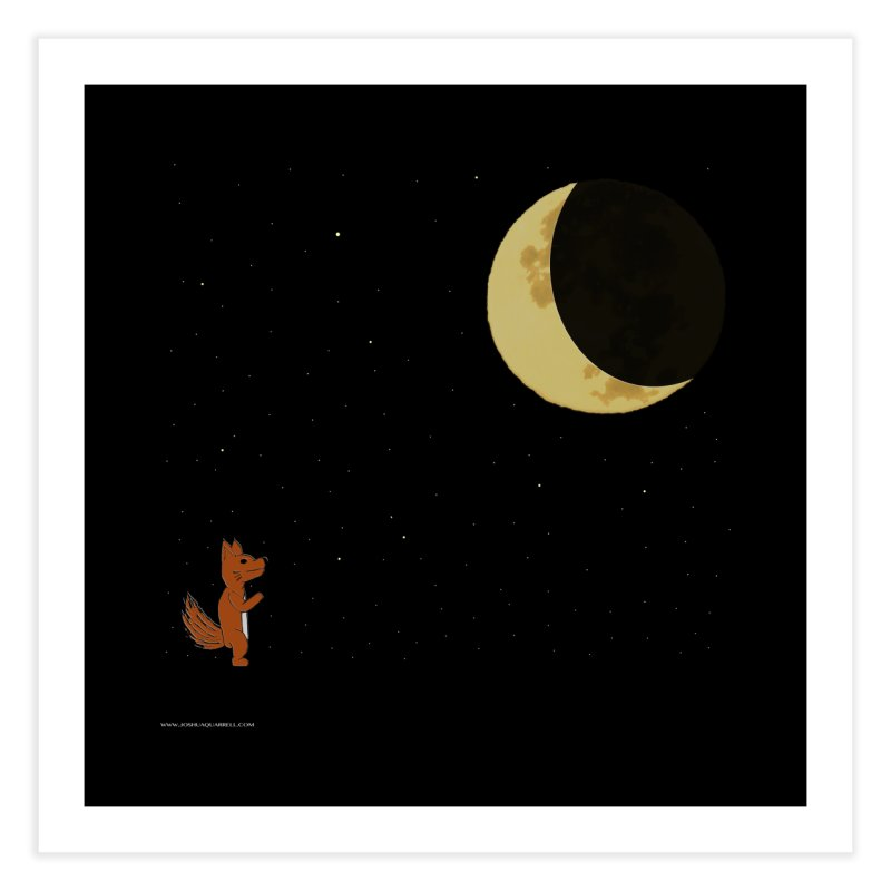 Just The Moon And I   by Every Drop's An Idea's Artist Shop