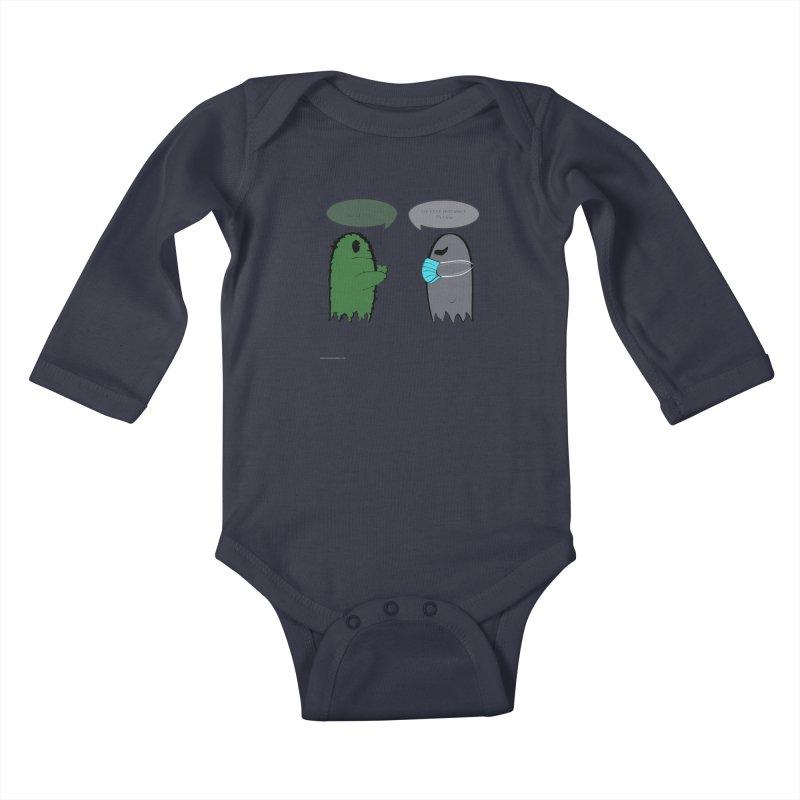 One Last Hug Kids Baby Longsleeve Bodysuit by Every Drop's An Idea's Artist Shop