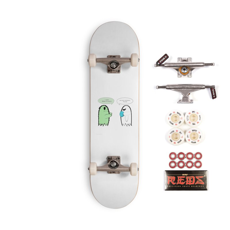 One Last Hug Accessories Skateboard by Every Drop's An Idea's Artist Shop