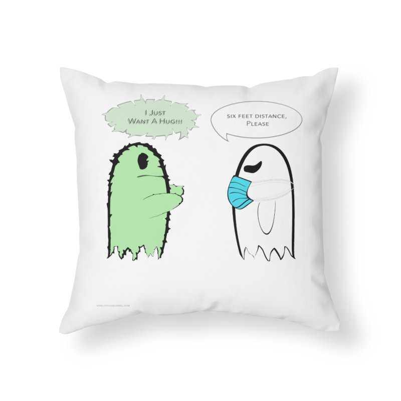 One Last Hug Home and Office Throw Pillow by Every Drop's An Idea's Artist Shop