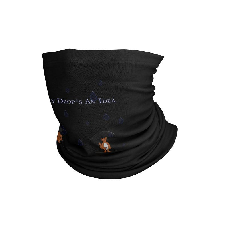 Every Drop's An Idea (Fox Edition) Accessories Neck Gaiter by Every Drop's An Idea's Artist Shop