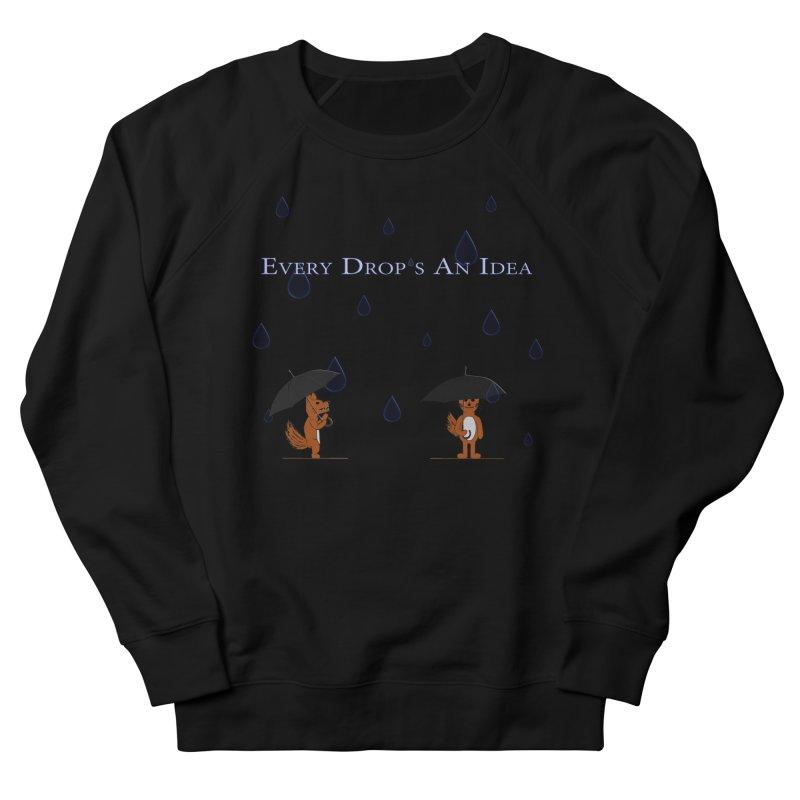 Every Drop's An Idea (Fox Edition)  Women's Sweatshirt by Every Drop's An Idea's Artist Shop