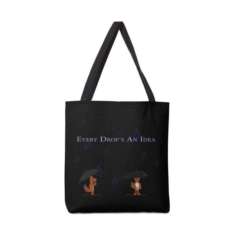 Every Drop's An Idea (Fox Edition)  Accessories Bag by Every Drop's An Idea's Artist Shop