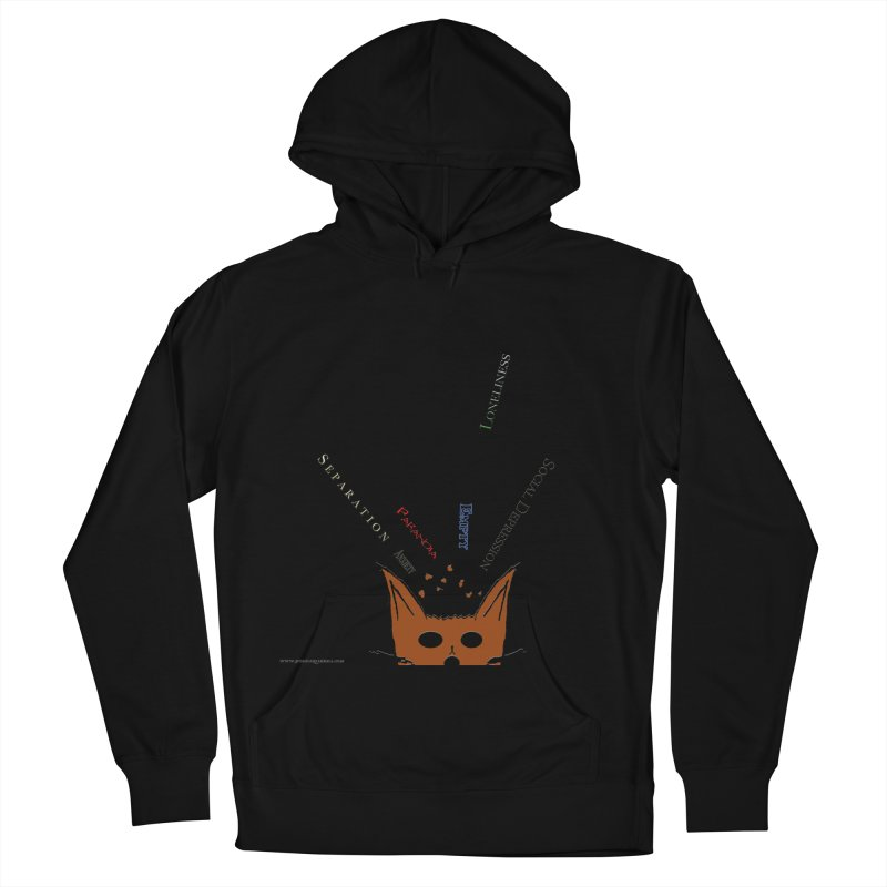 Inner Feelings Men's Pullover Hoody by Every Drop's An Idea's Artist Shop