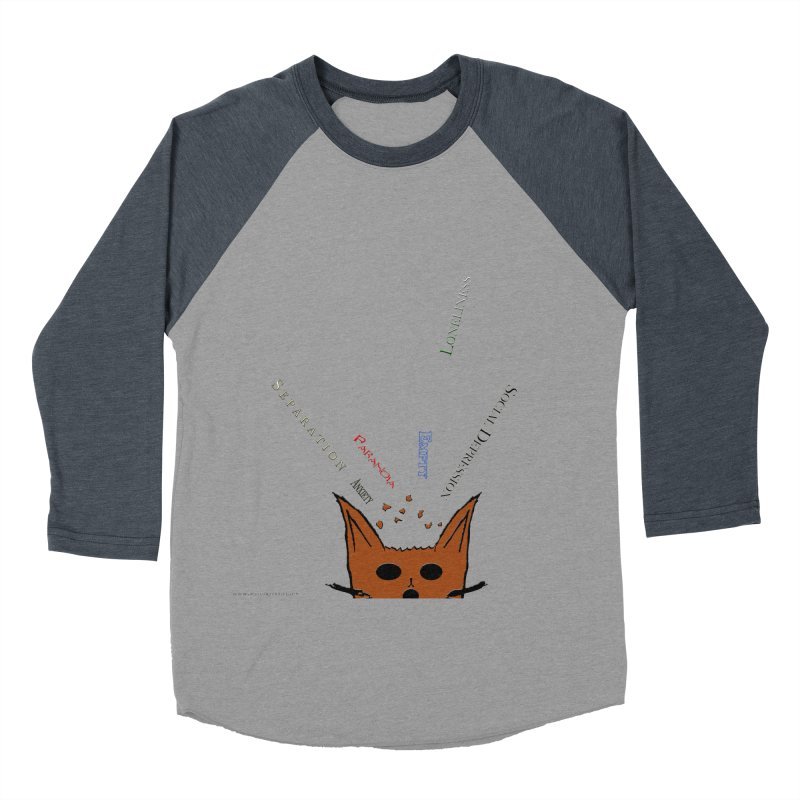 Inner Feelings Men's Baseball Triblend T-Shirt by Every Drop's An Idea's Artist Shop