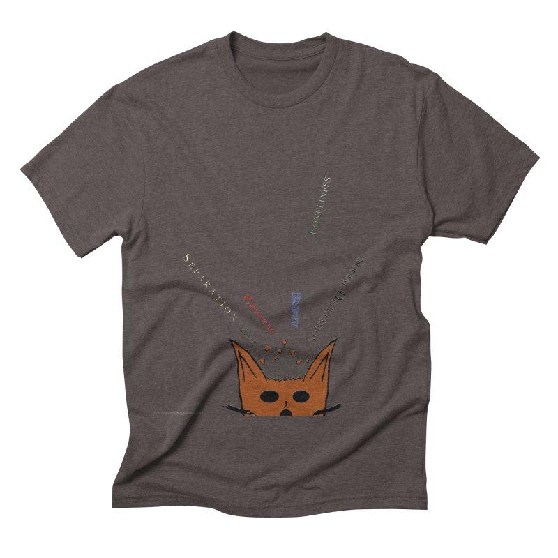 Inner Feelings Men's Triblend T-shirt by Every Drop's An Idea's Artist Shop