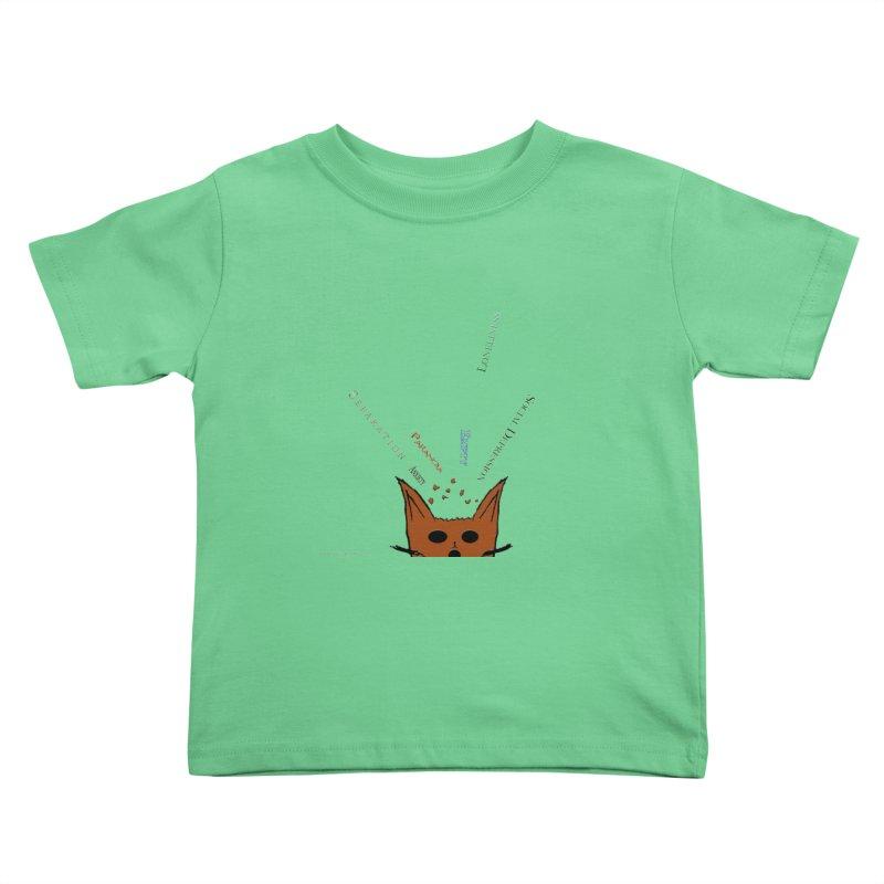 Inner Feelings Kids Toddler T-Shirt by Every Drop's An Idea's Artist Shop