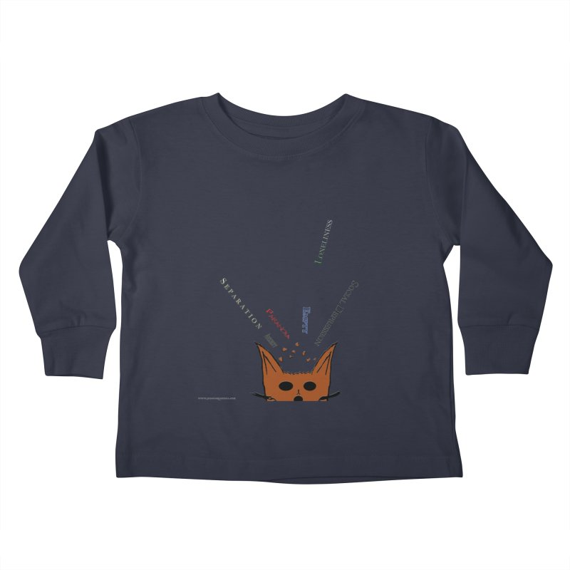 Inner Feelings Kids Toddler Longsleeve T-Shirt by Every Drop's An Idea's Artist Shop
