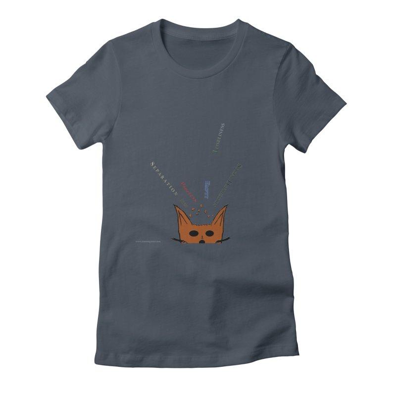 Inner Feelings Women's Fitted T-Shirt by Every Drop's An Idea's Artist Shop