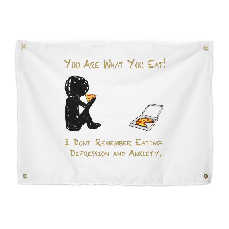 You Are What You Eat! Home Tapestry by Every Drop's An Idea's Artist Shop