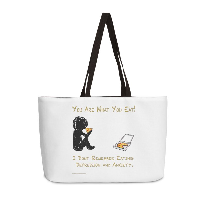 You Are What You Eat! Accessories Bag by Every Drop's An Idea's Artist Shop
