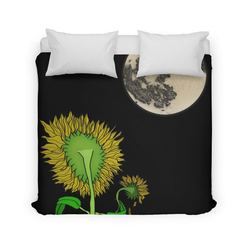 Holding You Up Home and Office Duvet by Every Drop's An Idea's Artist Shop