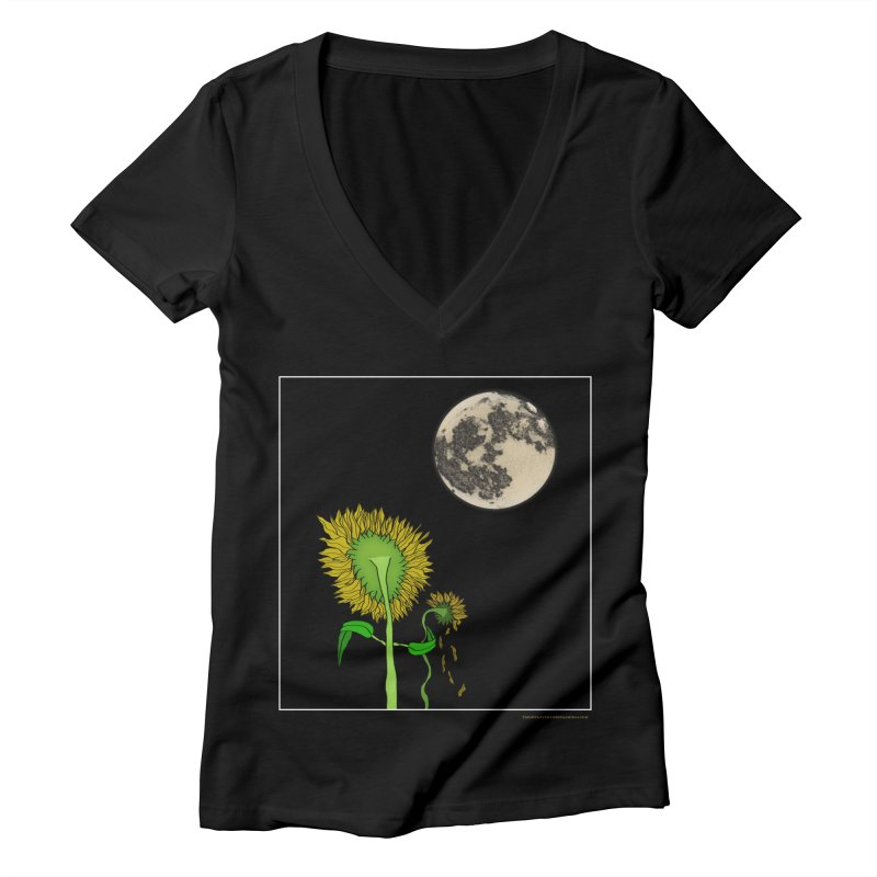 Holding You Up Women's V-Neck by Every Drop's An Idea's Artist Shop
