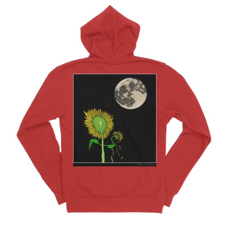 Holding You Up Men's Zip-Up Hoody by Every Drop's An Idea's Artist Shop