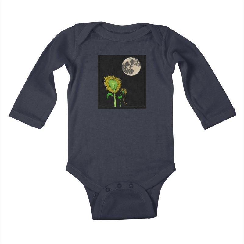 Holding You Up Kids Baby Longsleeve Bodysuit by Every Drop's An Idea's Artist Shop