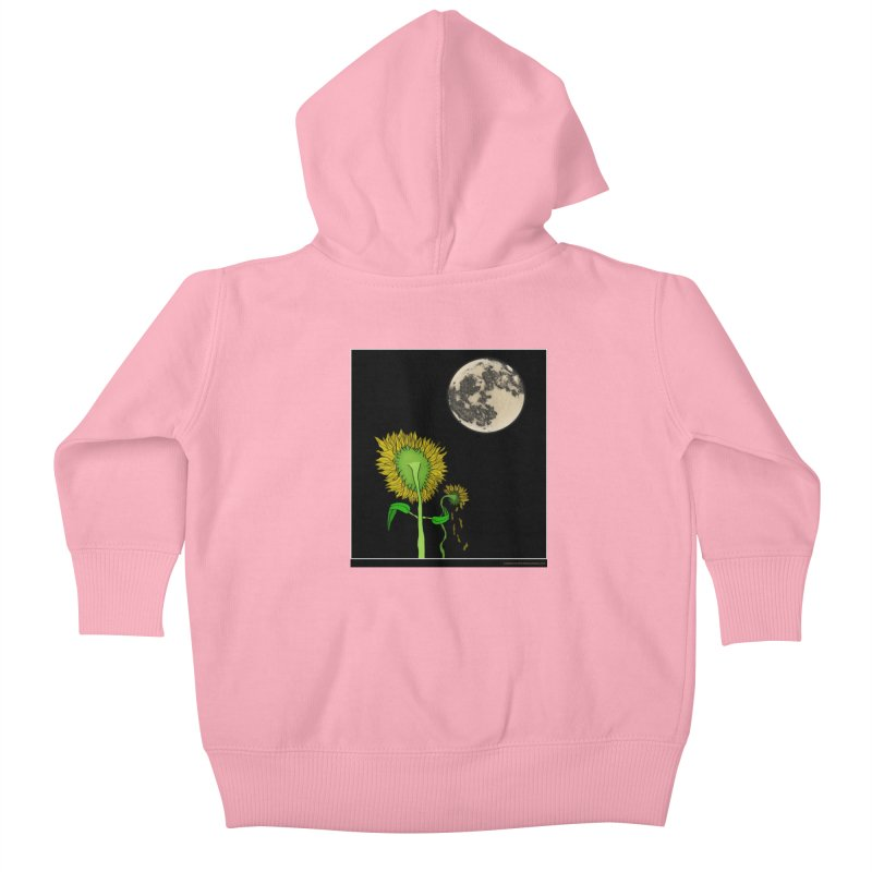 Holding You Up Kids Baby Zip-Up Hoody by Every Drop's An Idea's Artist Shop