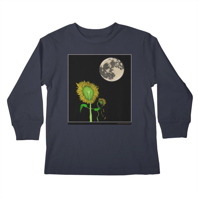 Holding You Up Kids Longsleeve T-Shirt by Every Drop's An Idea's Artist Shop