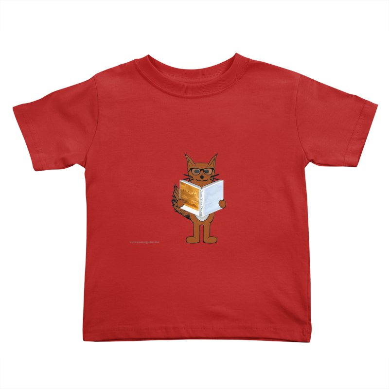 Chase Your Dreams Kids Toddler T-Shirt by Every Drop's An Idea's Artist Shop