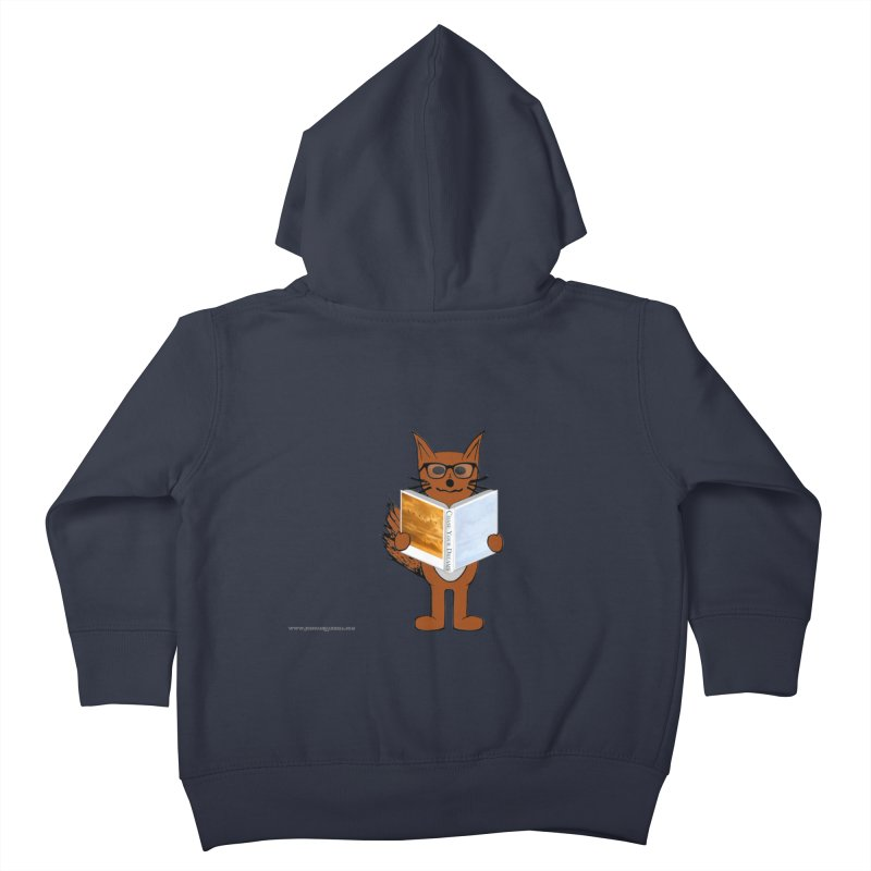 Chase Your Dreams Kids Toddler Zip-Up Hoody by Every Drop's An Idea's Artist Shop