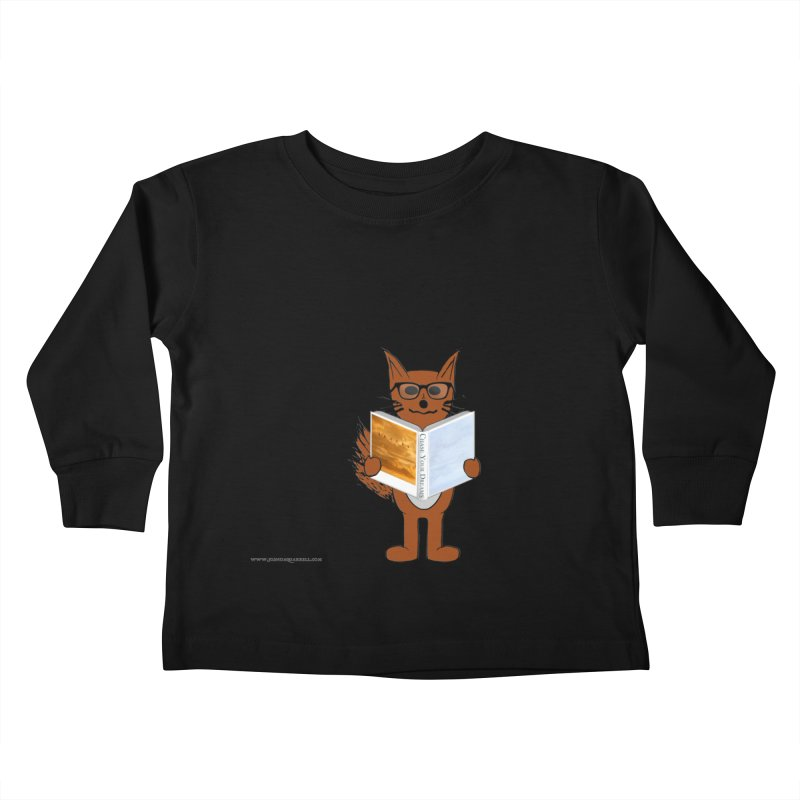 Chase Your Dreams Kids Toddler Longsleeve T-Shirt by Every Drop's An Idea's Artist Shop