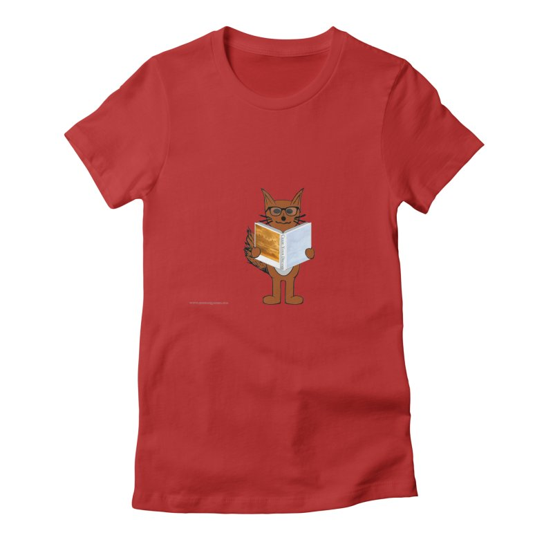 Chase Your Dreams Women's Fitted T-Shirt by Every Drop's An Idea's Artist Shop