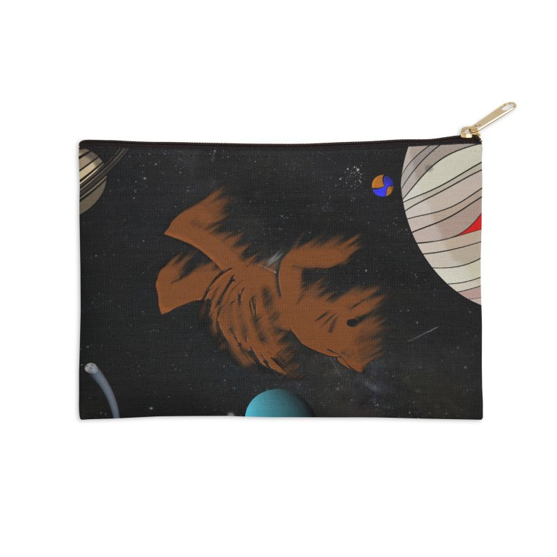 How Do I Fix Myself Accessories Zip Pouch by Every Drop's An Idea's Artist Shop