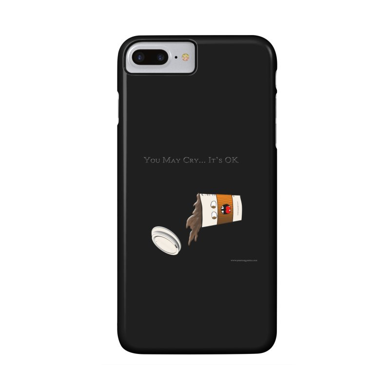 You May Cry... It's OK (Orange) Accessories Phone Case by Every Drop's An Idea's Artist Shop