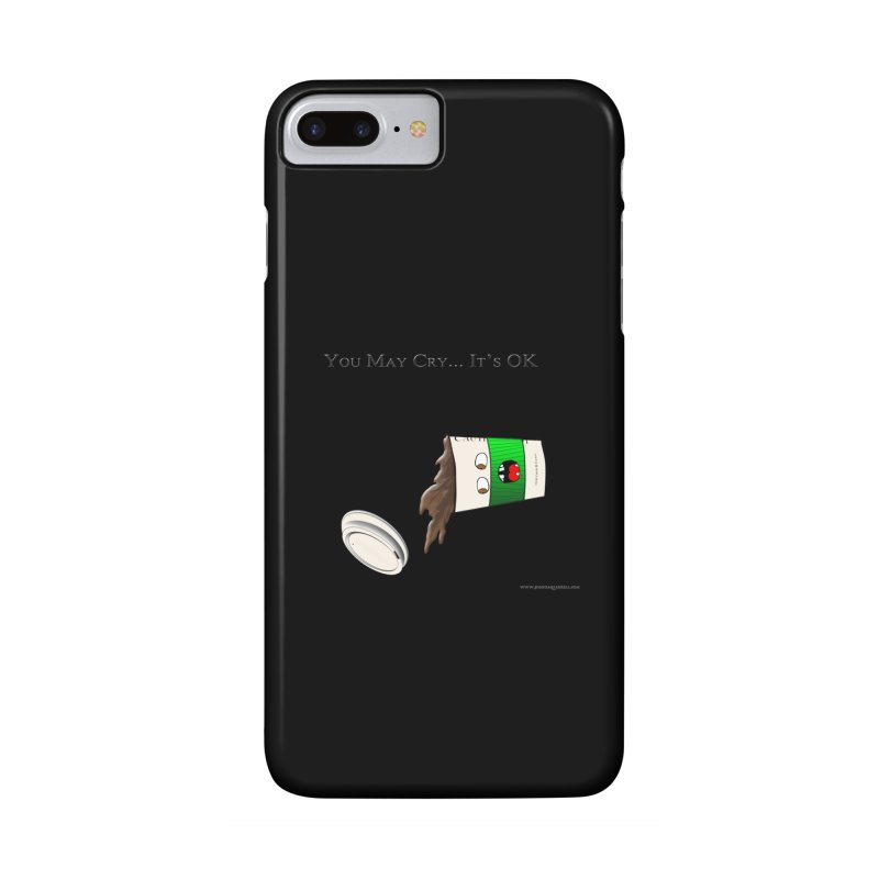 You May Cry... It's OK (Green) Accessories Phone Case by Every Drop's An Idea's Artist Shop
