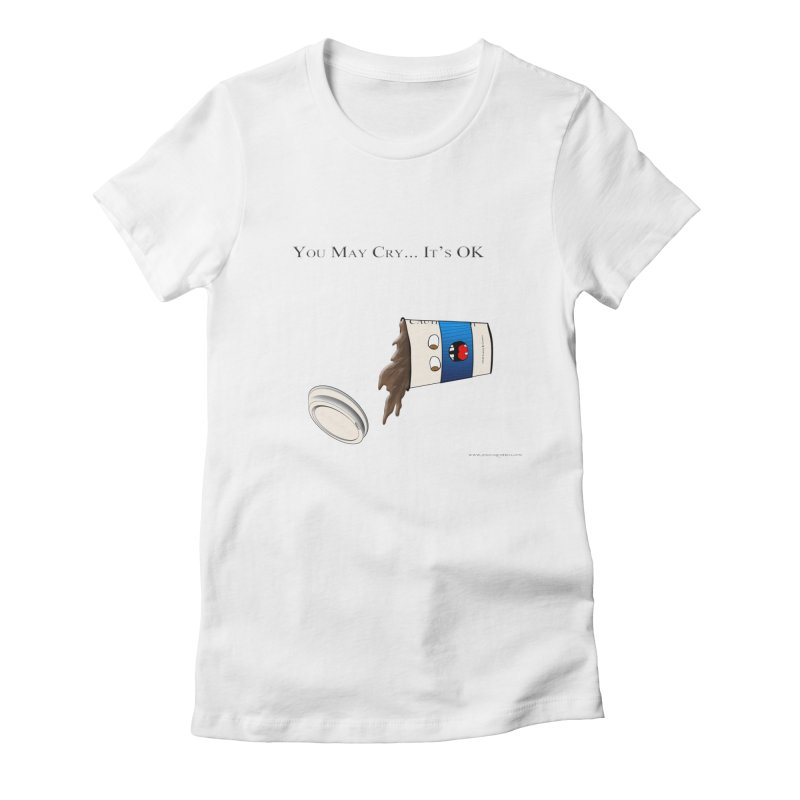 You May Cry... It's OK (Blue)   by Every Drop's An Idea's Artist Shop