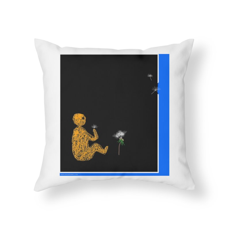 Where We Go Home and Office Throw Pillow by Every Drop's An Idea's Artist Shop