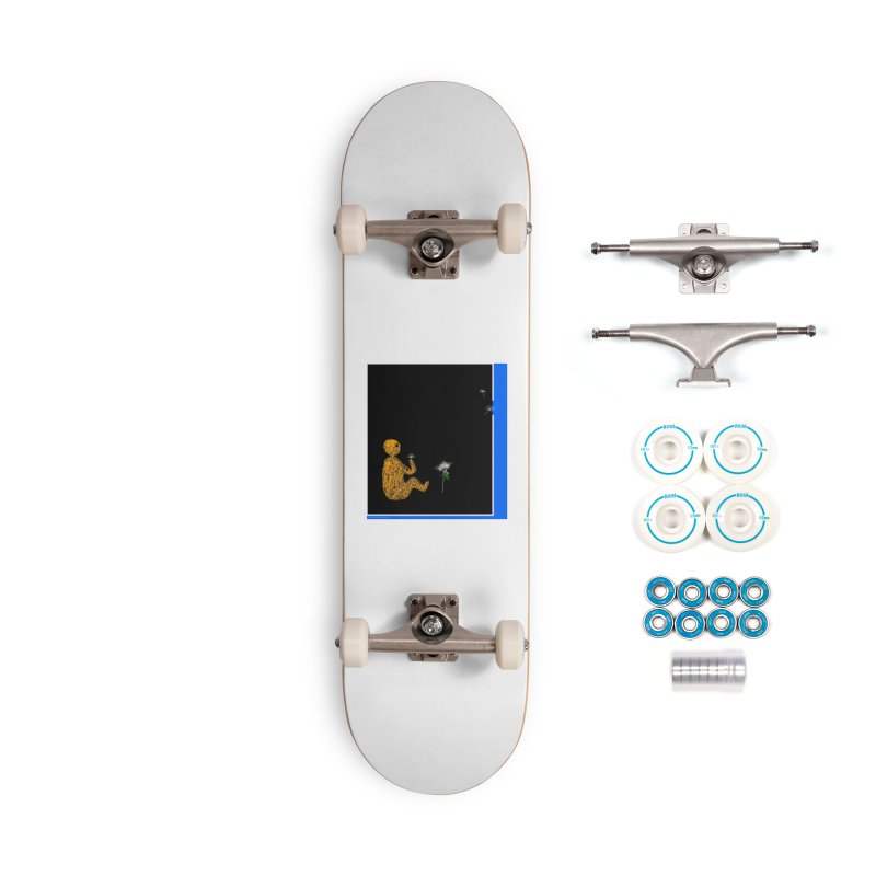 Where We Go Accessories Skateboard by Every Drop's An Idea's Artist Shop
