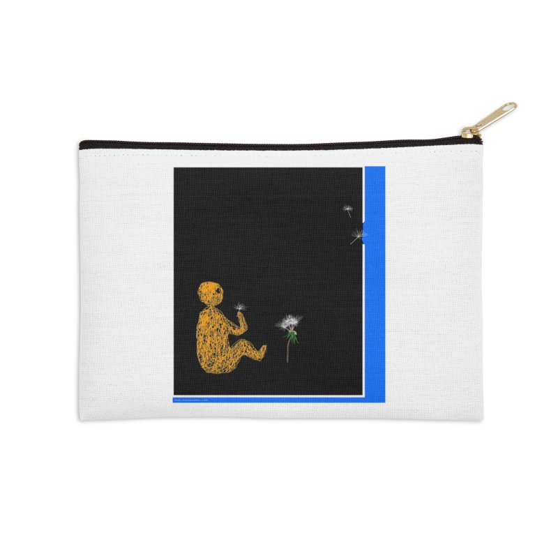 Where We Go Accessories Zip Pouch by Every Drop's An Idea's Artist Shop
