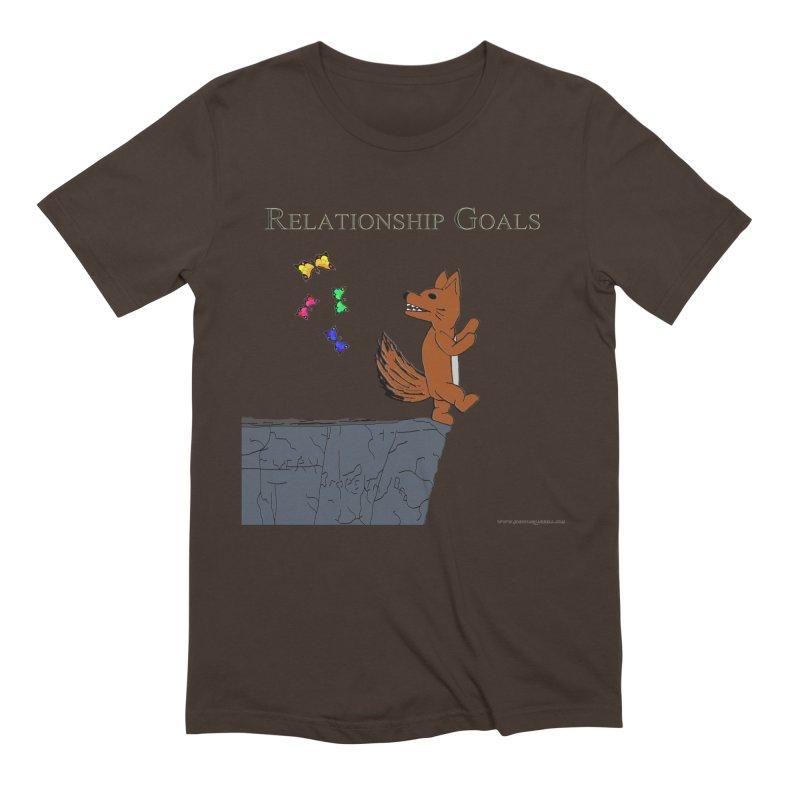 Relationship Goals Men's T-Shirt by Every Drop's An Idea's Artist Shop