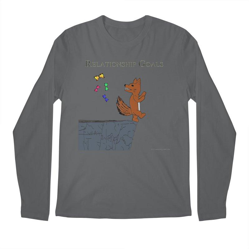 Relationship Goals Men's Longsleeve T-Shirt by Every Drop's An Idea's Artist Shop