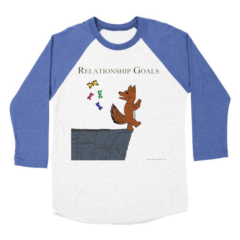 Relationship Goals Women's Baseball Triblend T-Shirt by Every Drop's An Idea's Artist Shop