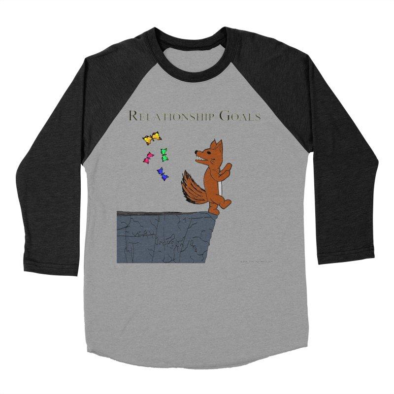 Relationship Goals Women's Baseball Triblend Longsleeve T-Shirt by Every Drop's An Idea's Artist Shop