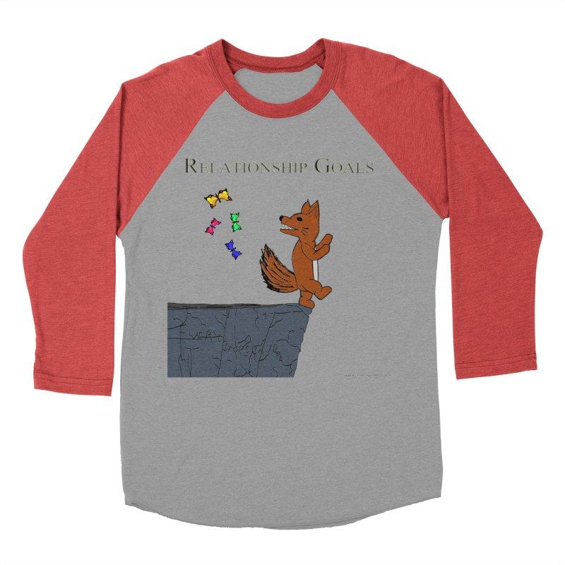 Relationship Goals Men's Baseball Triblend T-Shirt by Every Drop's An Idea's Artist Shop