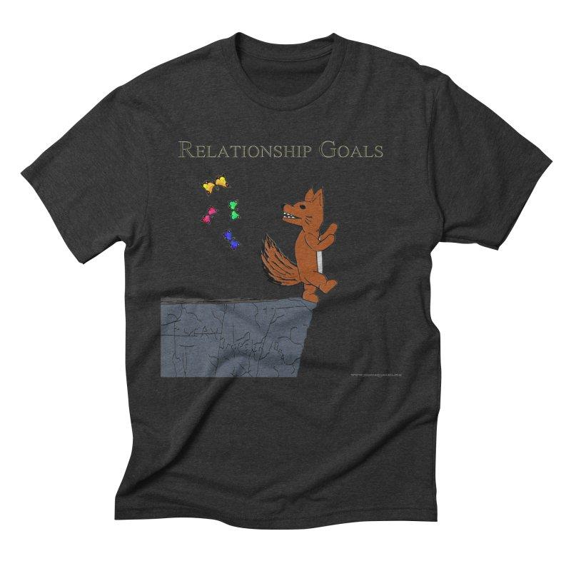 Relationship Goals Men's Triblend T-shirt by Every Drop's An Idea's Artist Shop