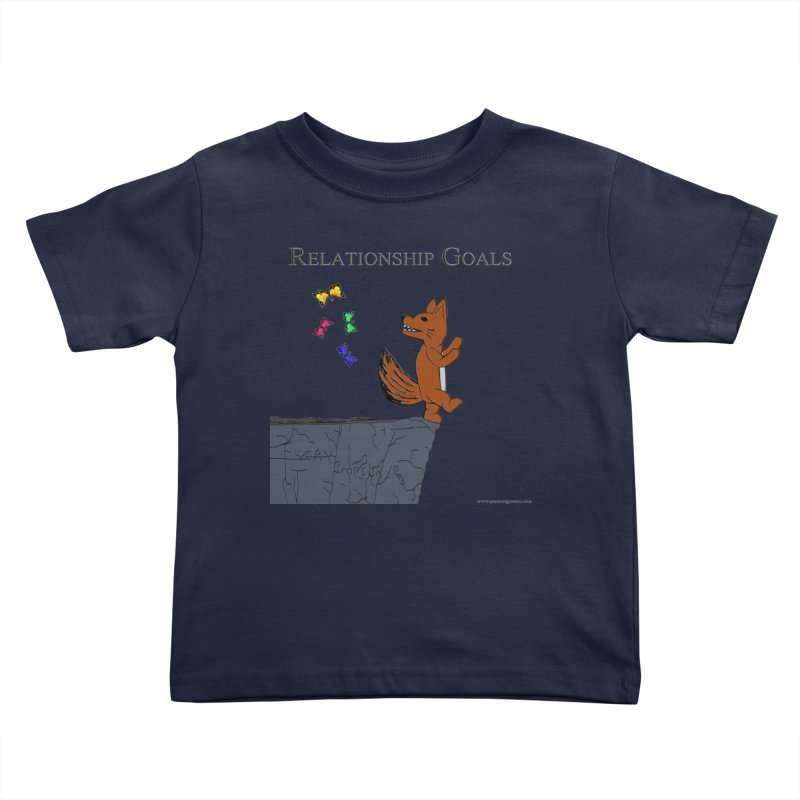 Relationship Goals Kids Toddler T-Shirt by Every Drop's An Idea's Artist Shop
