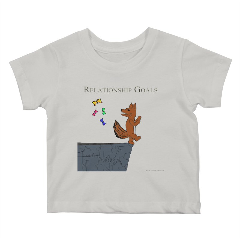 Relationship Goals Kids Baby T-Shirt by Every Drop's An Idea's Artist Shop