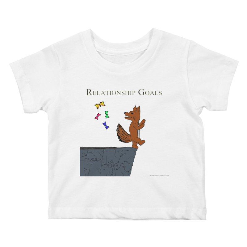 Relationship Goals Kids Baby T-Shirt by Every Drop's An Idea's Artist Shop