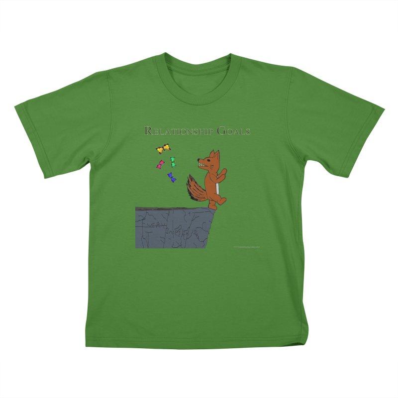 Relationship Goals Kids T-Shirt by Every Drop's An Idea's Artist Shop