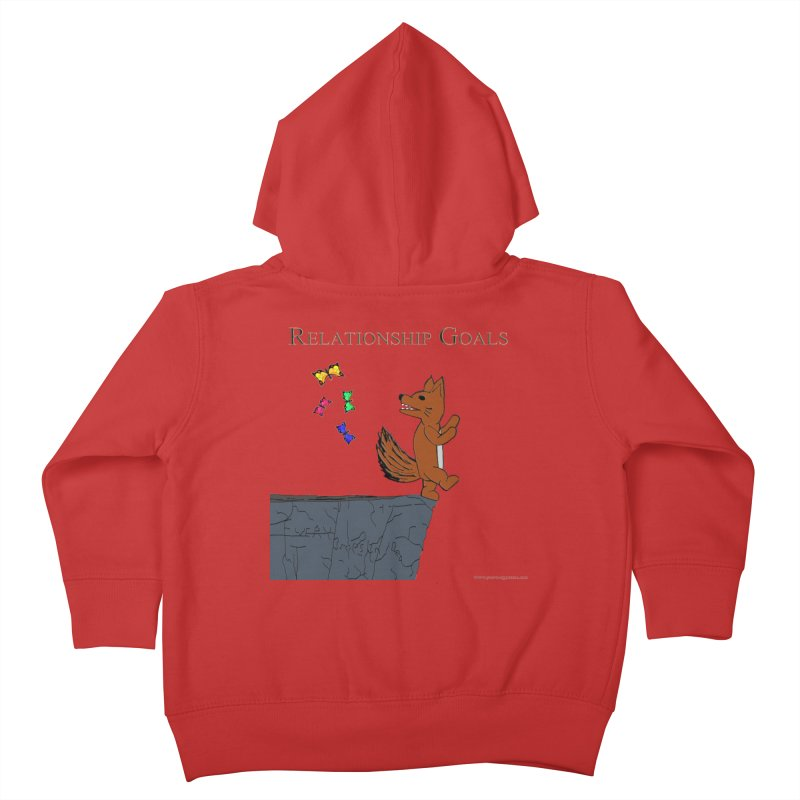 Relationship Goals Kids Toddler Zip-Up Hoody by Every Drop's An Idea's Artist Shop