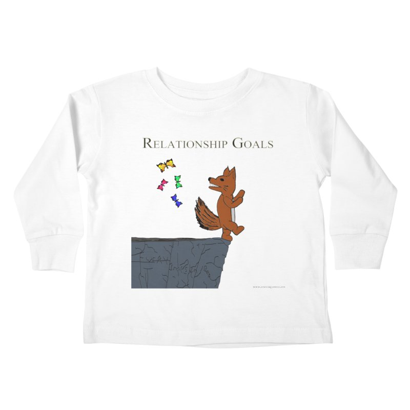 Relationship Goals Kids Toddler Longsleeve T-Shirt by Every Drop's An Idea's Artist Shop