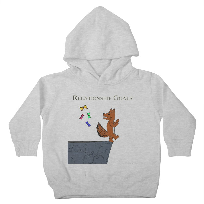 Relationship Goals Kids Toddler Pullover Hoody by Every Drop's An Idea's Artist Shop