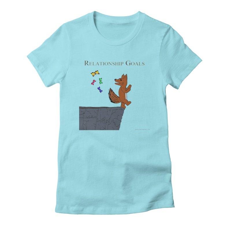Relationship Goals Women's Fitted T-Shirt by Every Drop's An Idea's Artist Shop