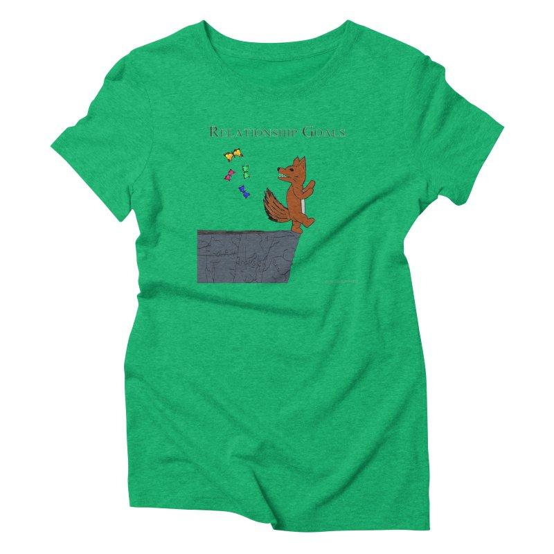 Relationship Goals Women's Triblend T-shirt by Every Drop's An Idea's Artist Shop